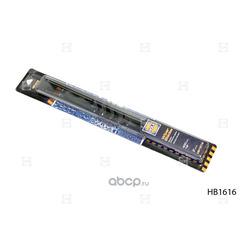 Щетки стеклоочистителя каркасные, комплект (2 шт.) (HOLA) HB1616