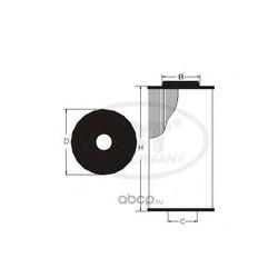 Масляный фильтр (SCT) SH4039P