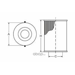 Фильтр масляный (SCT) SH4035