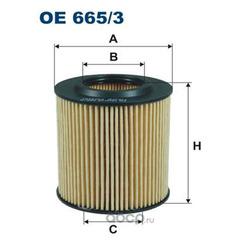 Фильтр масляный Filtron (Filtron) OE6653