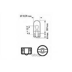 Лампа накаливания, фонарь указателя поворота (SCT) 202112
