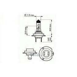 Лампа накаливания, фара дальнего света (SCT) 202136