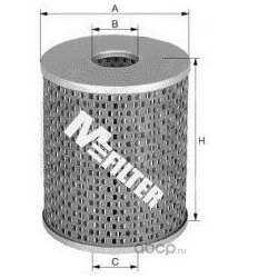Фильтр топливный (M-Filter) DE684