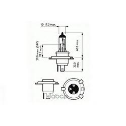 Лампа накаливания, фара дальнего света (SCT) 202013