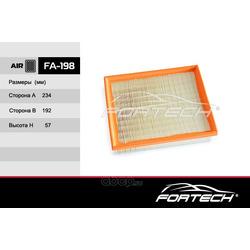 Фильтр воздушный (Fortech) FA198