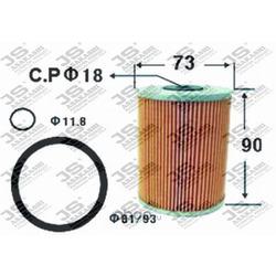 Фильтр топливный элемент (JS Asakashi) FE309J
