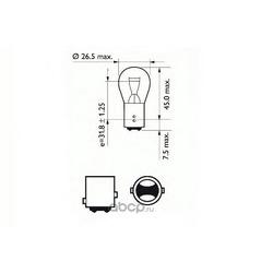 Лампа накаливания, фонарь указателя поворота (SCT) 202068