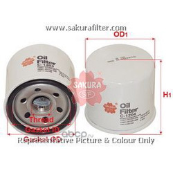 Фильтр масляный (Sakura) C1204