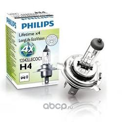 Лампа 12V60/55W (H4) (Philips) 12342LLECOC1