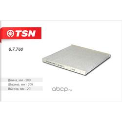 Фильтр салона (TSN) 97760