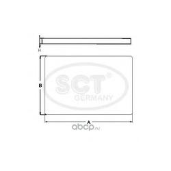 Фильтр салона (SCT) SA1213