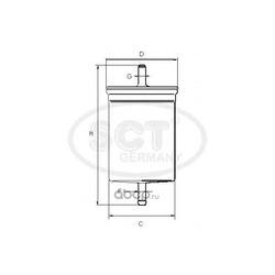 Топливный фильтр (SCT) ST383
