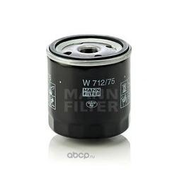 Масляный фильтр (MANN-FILTER) W71275
