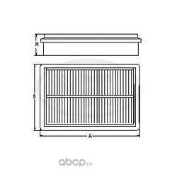 Воздушный фильтр (SCT) SB2116