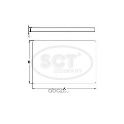 Фильтр салона (SCT) SA1284
