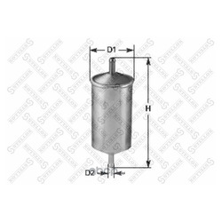 Топливный фильтр (Stellox) 2100171SX
