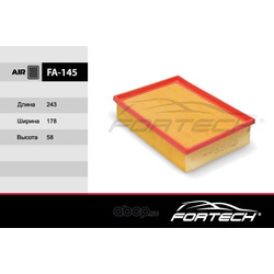 Фильтр воздушный (Fortech) FA145