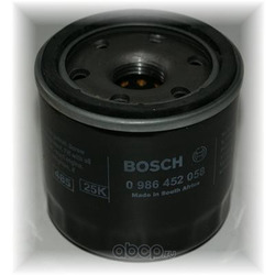 Масляный фильтр (Bosch) 0986452058