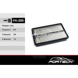Фильтр воздушный (Fortech) FA205