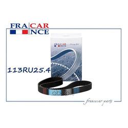 Ремень ГРМ 113RU25.4 (Francecar) FCR1V0012
