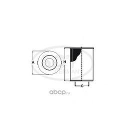 Масляный фильтр (SCT) SH4786P