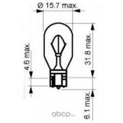 Лампа накаливания, фонарь указателя поворота (SCT) 202402