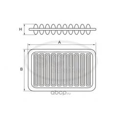 Фильтр воздушный (SCT) SB3250