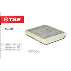 Фильтр салона угольный (TSN) 97260