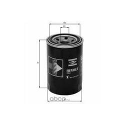 Масляный фильтр (Mahle/Knecht) OC195