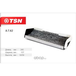 Фильтр салона угольный (TSN) 9762