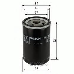 Фильтр масляный (Bosch) 0986452036