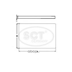 Фильтр салона (SCT) SA1281