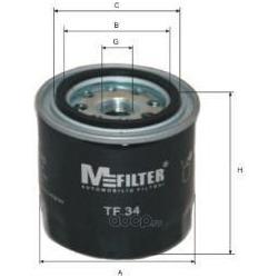 Фильтр масляный (M-Filter) TF34