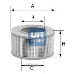 Воздушный фильтр (UFI) 3080700