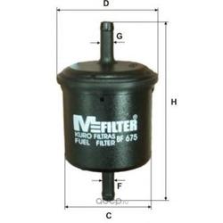 Фильтр топливный (M-Filter) BF675