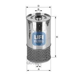 Масляный фильтр (UFI) 2552800