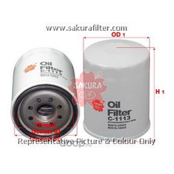 Фильтр масляный (Sakura) C1113