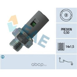 Датчик давления масла (FAE) 12636