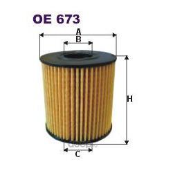 Фильтр масляный Filtron (Filtron) OE673