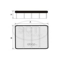 Фильтр воздушный (SCT) SB2107