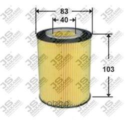 Фильтр масляный элемент (JS Asakashi) OE0027