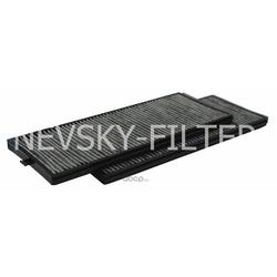 Фильтр очистки воздуха салона угольный (NEVSKY FILTER) NF6159C2