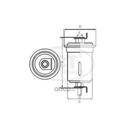 Топливный фильтр (SCT) ST368
