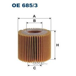 Фильтр масляный Filtron (Filtron) OE6853