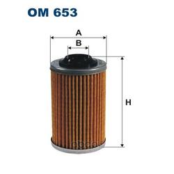 Масляный фильтр (Filtron) OM653