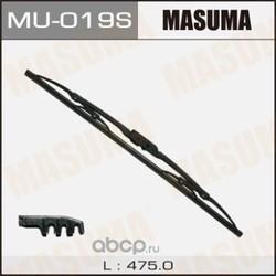 """Щетка стеклоочистителя 47,5 см 19"""", крюк (Masuma) MU019S"""