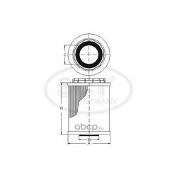 Масляный фильтр (SCT) SH4033P