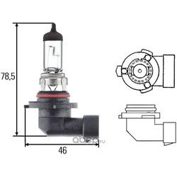 Лампа накаливания, основная фара (Hella) 8GH005636121