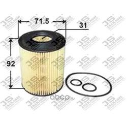 Фильтр масляный элемент (JS Asakashi) OE0003