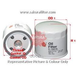 Фильтр масляный (Sakura) C19410